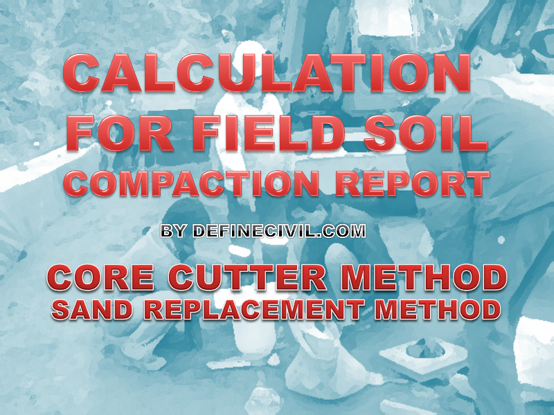 Field Density Test Calculations
