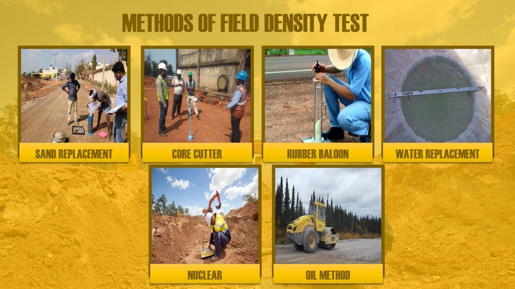 Methods of Field Density Test
