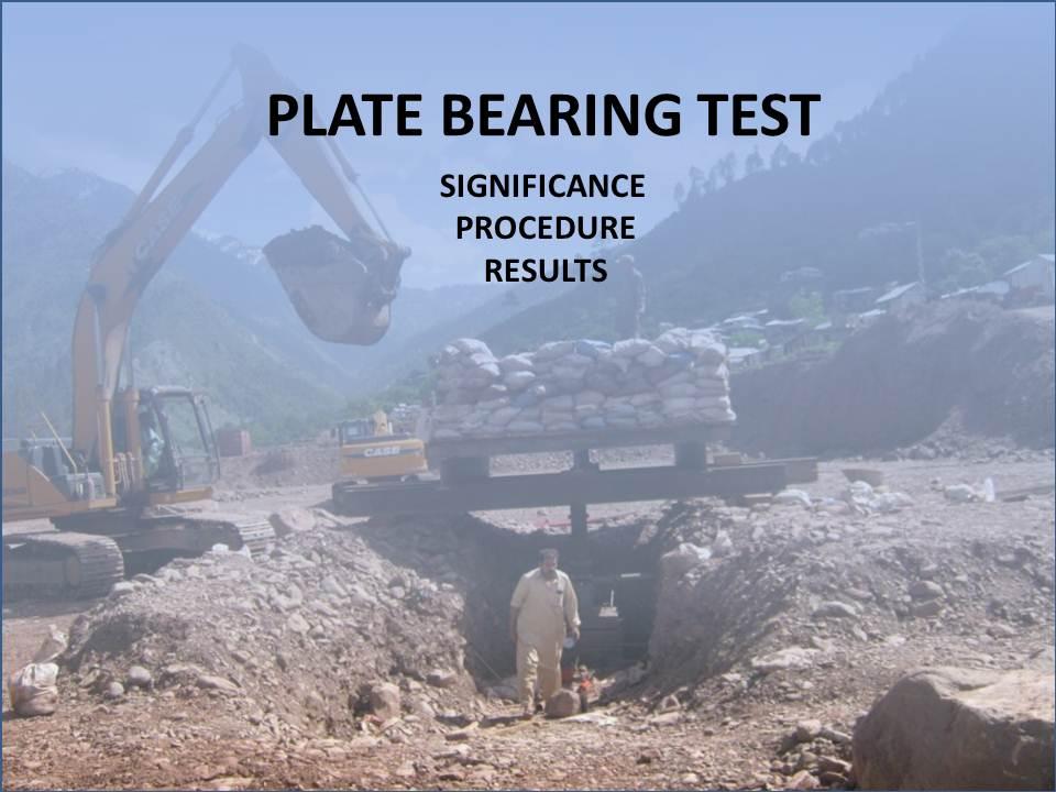 Plate Bearing Test