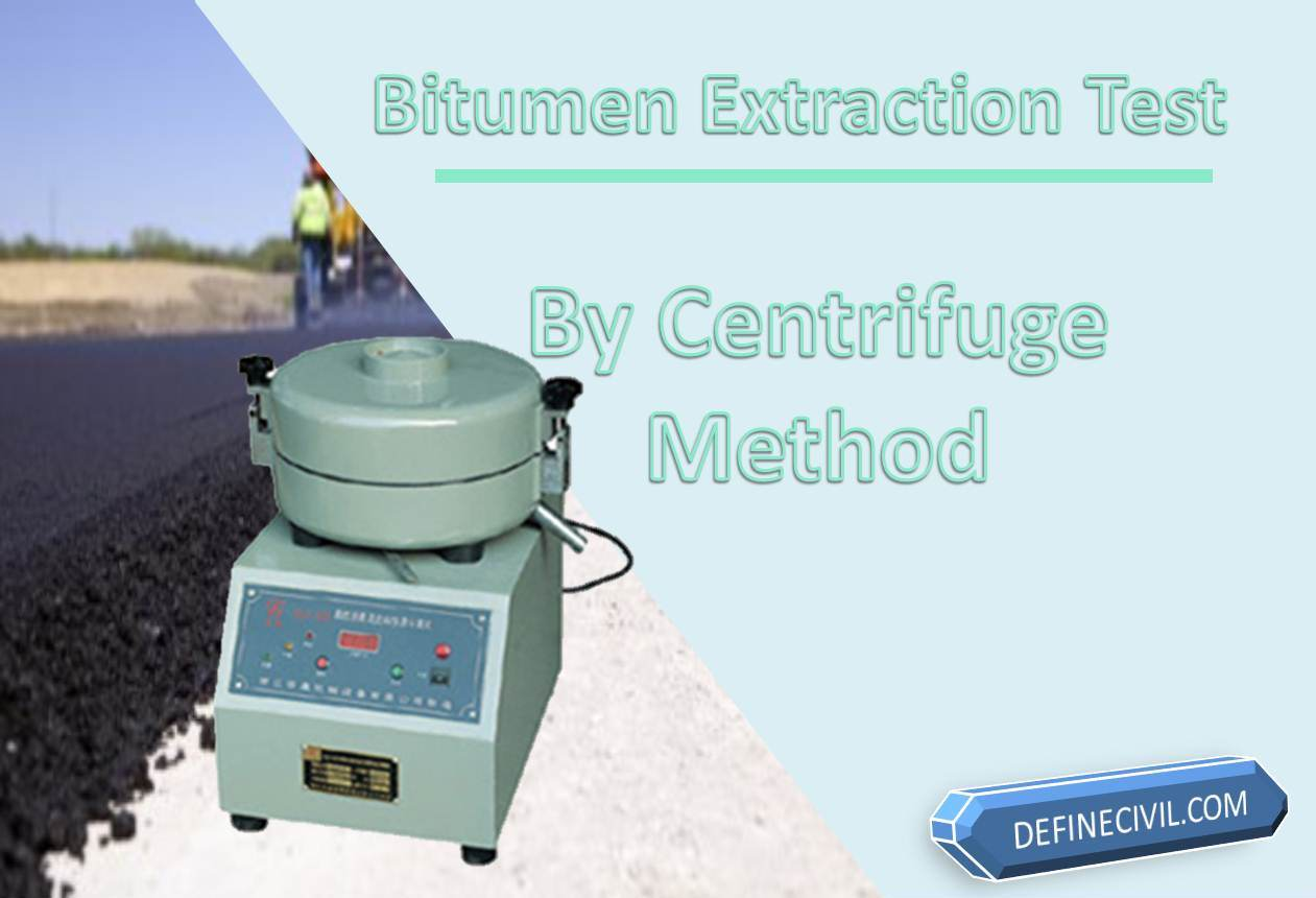 Bitumen Extraction Test
