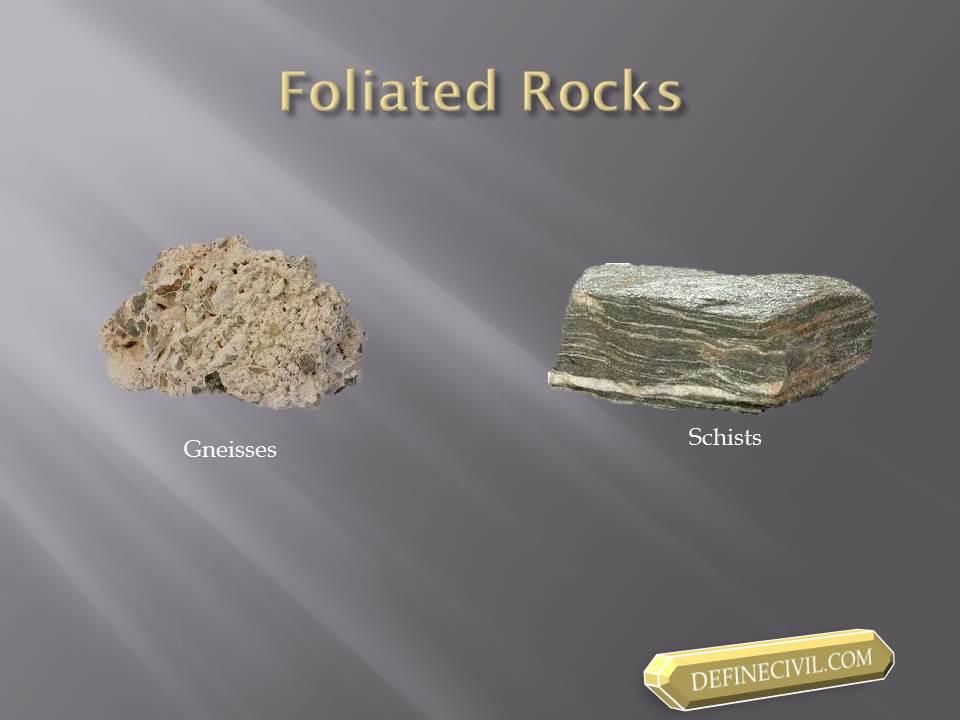 Foliated Rocks