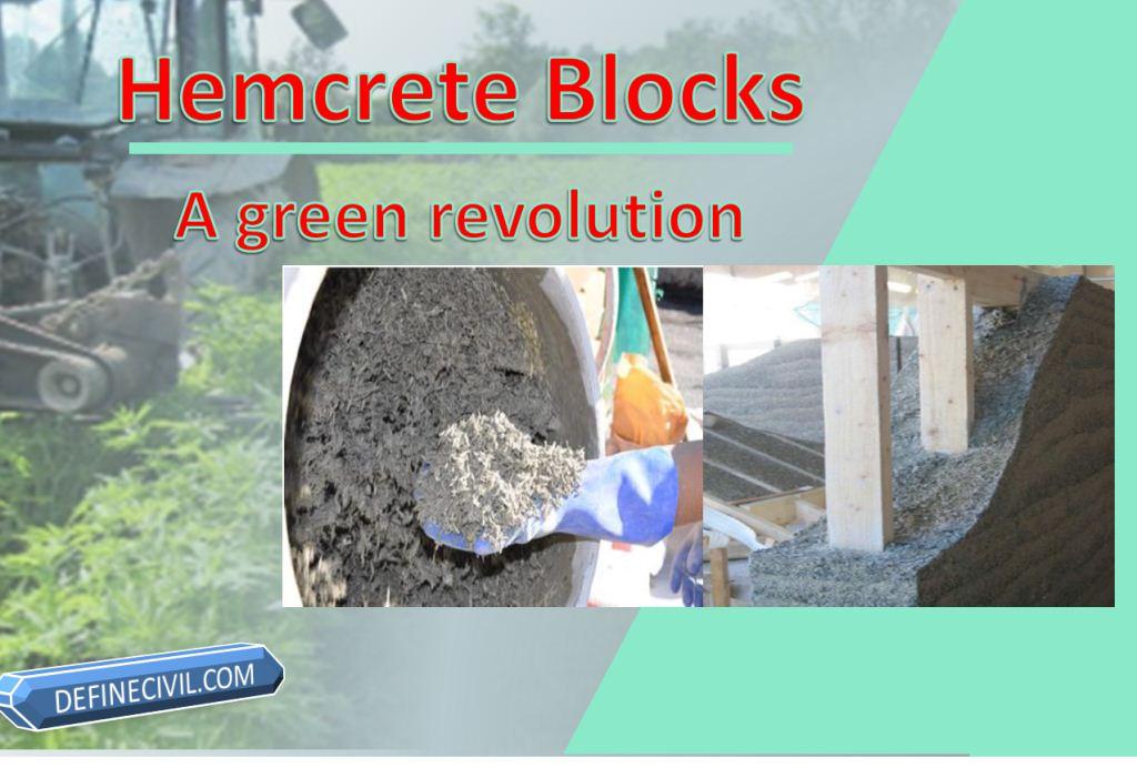 Hempcrete Blocks an innovative replacement of Concrete