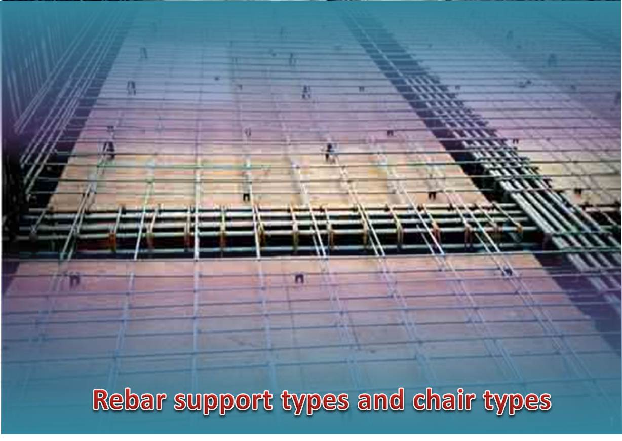 Types of Rebar Support