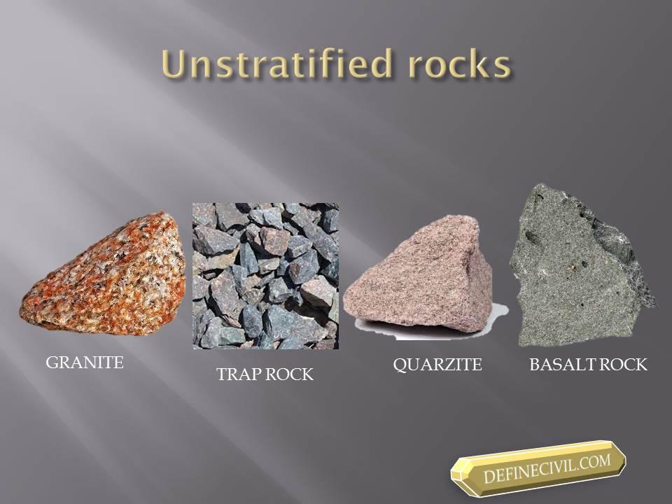 Unstratified Rocks