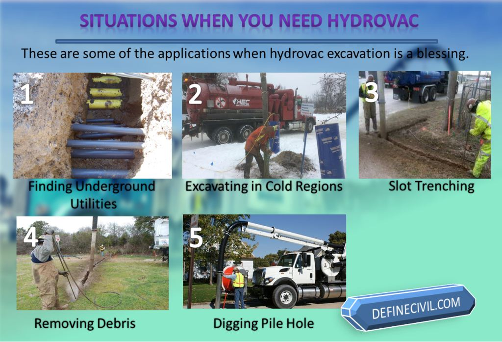 When would you need a hydrovac
