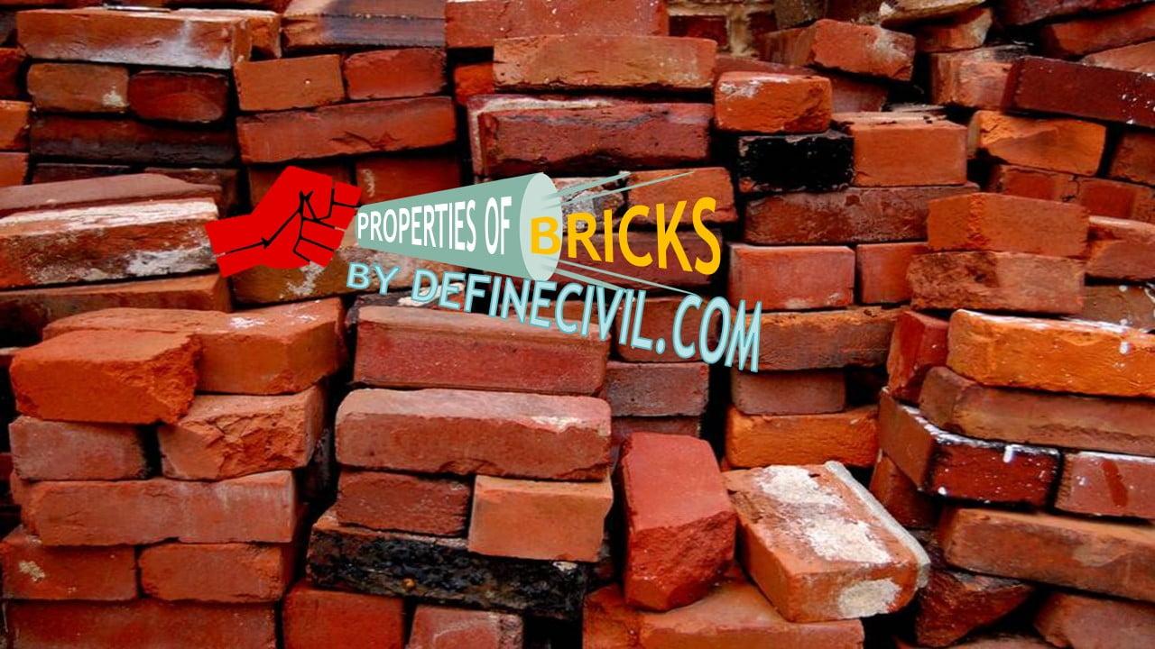 Properties of Bricks