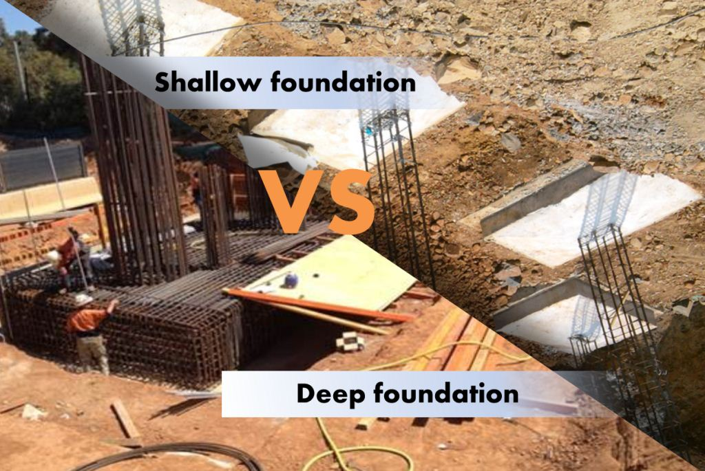 Difference between Shallow and Deep Foundation
