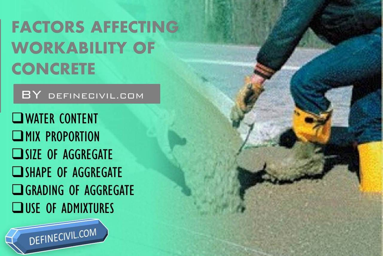 Factors of Affecting Workability of Concrete