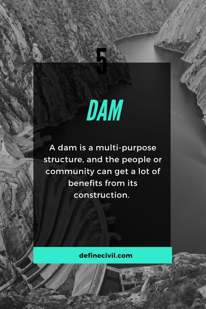 Definition of Dam