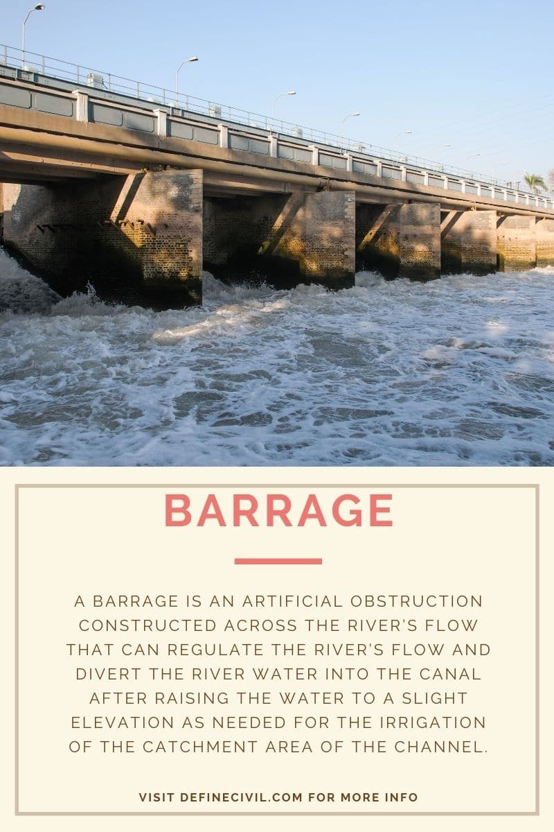 What is barrage