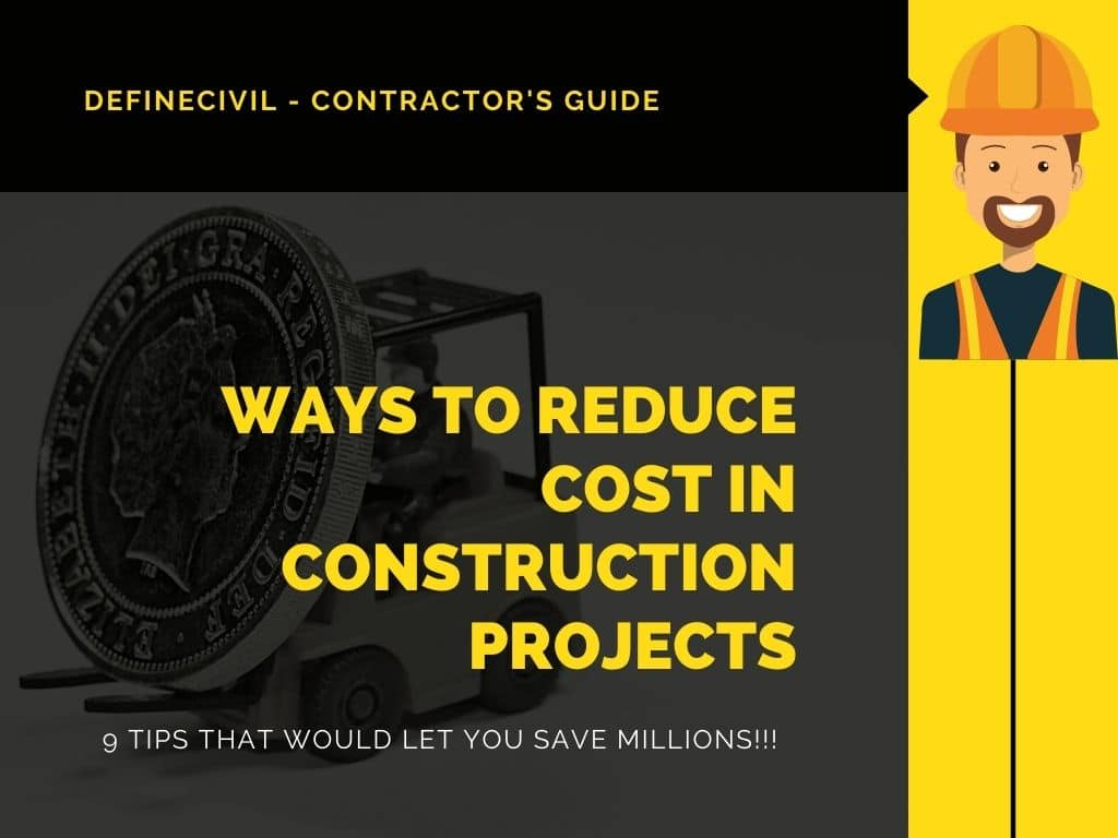 How to reduce construction cost?