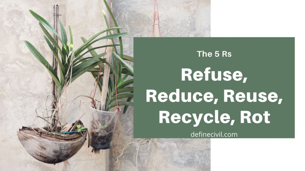 4R Principle to reduce solid waste