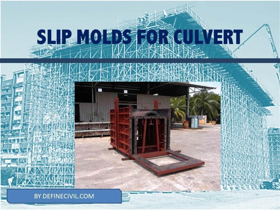 Slip Molds - falsework system