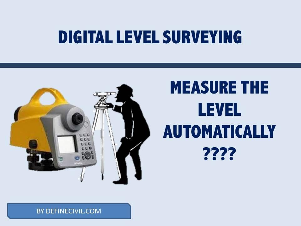 Digital Level Surveying