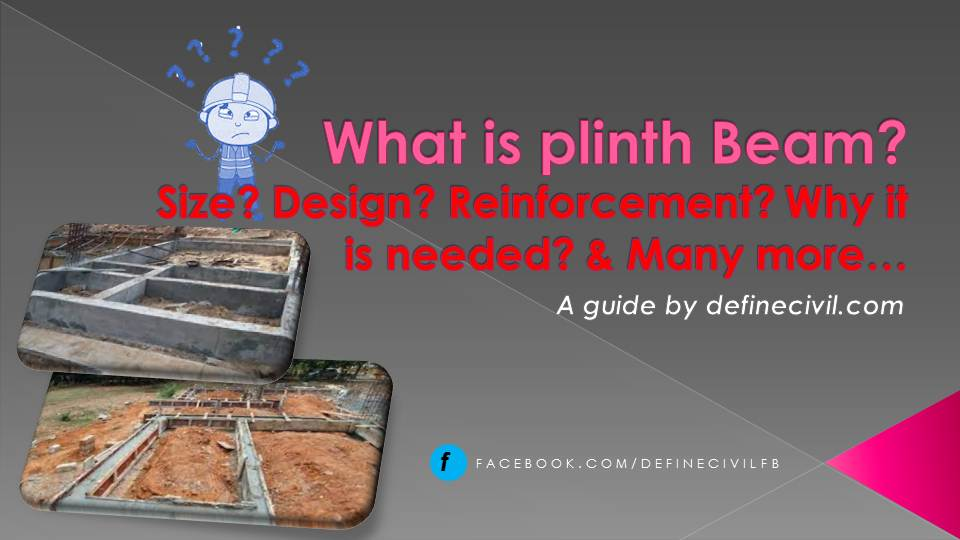 What is plinth beam