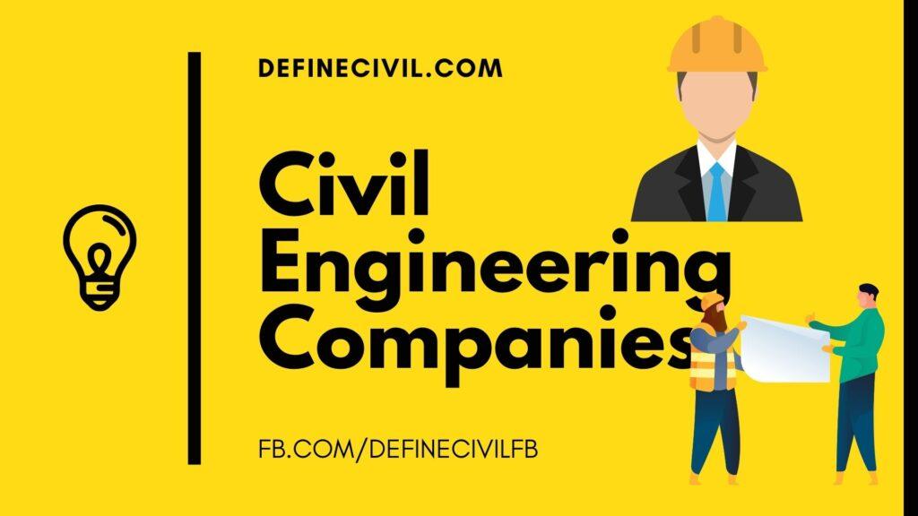 Civil Engineering Companies in Pakistan