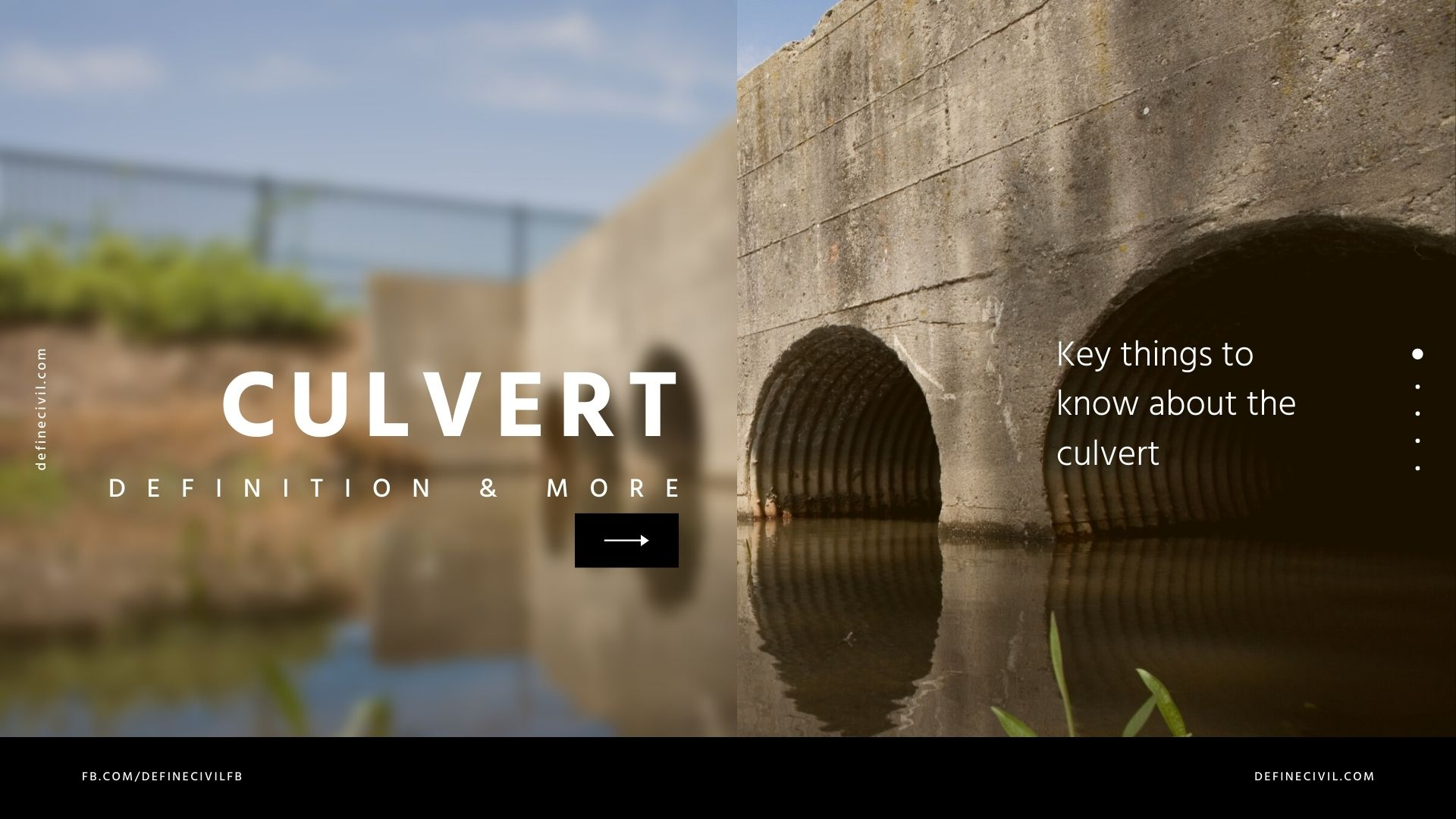 What is a culvert
